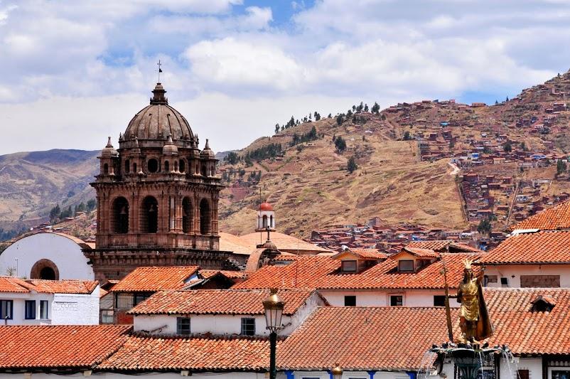 Перу, Куско, красивый горд